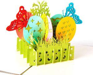 Osterkarten, 3D Pop Up Osterkarte Ostertagsgrußkarte, Umschlag inklusive (Ostern)