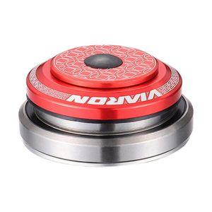MTB Lager Headset Leichtes Fahrradzubehör Doppellager Fahrrad Headset für Gabellager  Mountainbike MTB Farbe rot