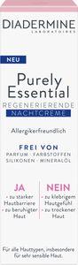 Diadermine Purely Essential Regenerierende Nachtcreme  40 Ml