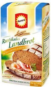 Aurora Rustikales Landbrot Backmischung für Roggenmichbrot 500g