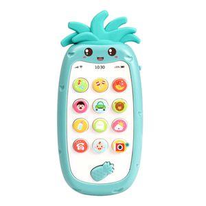 Nette Telefon Spielzeug für Babys Zahnen Spielzeug Smartphone mit Lichter, musik und Sound Frühe Pädagogische Entwicklung für Kinder und Kleinkinder Farbe Grün