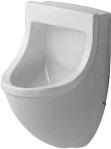 Duravit Urinal STARCK 3 330 x 350 mm, Zulauf von hinten mit Fliege HygieneGlaze weiß