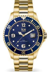 Ice-Watch 016761 Armbanduhr Ice Steel Gold Blue M