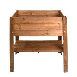 Holzhochbeet 80,5x78,5x40cm
