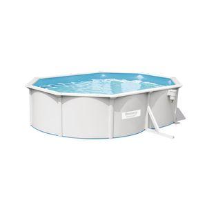 Bestway Hydrium Pool-Set mit Sandfilteranlage + Zubehör, oval, 500x360x120cm, 56586