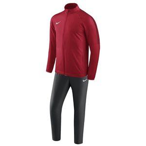 Nike Herren Dry Academy 18 Herren Trainingsanzug Tracksuit Jogginganzug schwarz rot , Bekleidungsgröße:L
