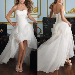 Frauen formale Hochzeitskleid Abendparty Ballkleid Long Prom Brautjungfer Kleid,Farbe: Weiß,Größe:8