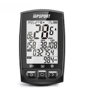iGPSPORT iGS50E  GPS Fahrradcomputer Kilometerzähle Kabellos Tacho ANT+ IPX7 schwarz