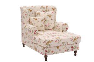 Max Winzer Mareille Big-Sessel inkl. 2x Zierkissen 55x55cm + 40x40cm - Farbe: weiß - Maße: 103 cm x 149 cm x 103 cm; 2902-754-2041150-F07