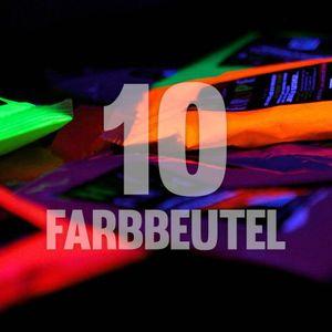 10 x NEON Holi Pulver - Festival Farbbeutel - Fotoshooting Faben LEUCHTEN