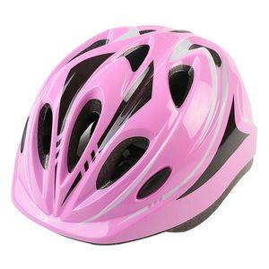 Fahrradhelm Kinder Mitwachsender Helm Schutzhelm Jungen Mädchen Kids Rosa