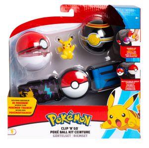 Pokémon - Clip 'n Go Gürtelset - Pikachu