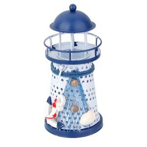 Mittelmeer Leuchtturm LED Licht, Tisch Deko