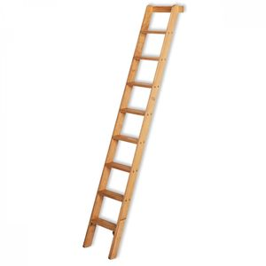 Iller Holz-Anlegeleiter 12 Stufen