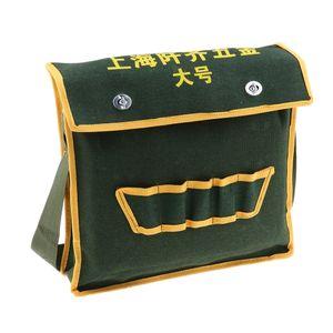 Tragbare hochwertige Stand Kit für Nylon Stoff Werkzeugtasche, Gürtel M Dunkelgrün