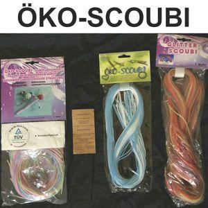 3 Pack Scoubidou Bänder Scoubi Basteln Flechtschnüre Scubidou Skubidou DIY ÖKO