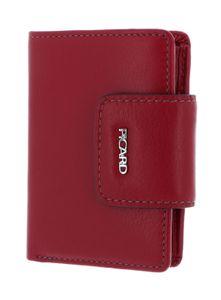 PICARD Ladysafe Bifold Wallet Red