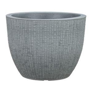 Scheurich Pflanztopf Barceo Stony Grey grau Ø 39 cm