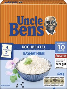 Uncle Ben's Basmati-Reis (500 g)