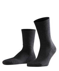 FALKE Herren Socken - Teppich im Schuh, Wolle, Unifarben schwarz 43-44