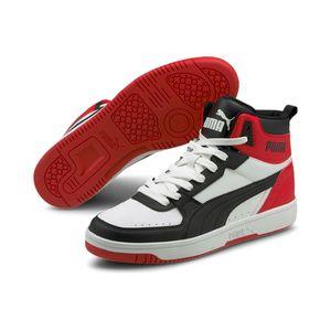 Puma Rebound JOY Hoher Sneaker Stiefel Boots Herren Sneaker 374765 03, Schuhgröße:42.5 EU