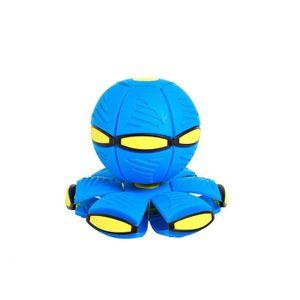 Magischer UFO-Ball Magisches Verformungslicht UFO-Spielzeug Spielzeug für Kinder im Freien (blau)