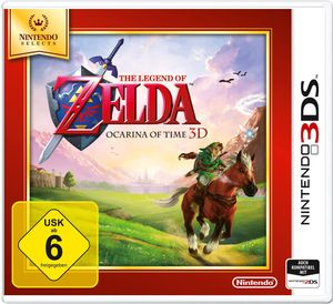 Nintendo The Legend of Zelda, Ocarina of Time 3D [3DS]