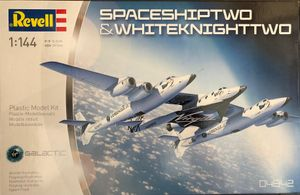 Revell Modellbausatz Space Ship Two & White Knight Two Maßstab 1:144, Nr.: 04842