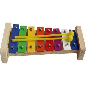 HLHBDSM Xylophon für Kinder, Musikspielzeug Schlagzeug Schlagwerk, Spielzeug Xylophon mit Holzschlägeln,Musikspielzeuge,HM-03607