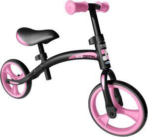 Skids Control Laufräder 2 Räder loopfiets 10 Zoll Junior Schwarz/Rosa