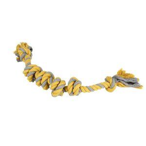 Hund Baumwolle Seil Spielzeug Zähne Reinigung Molaren Zähne Beißen Resistent Große Pet Spielzeug