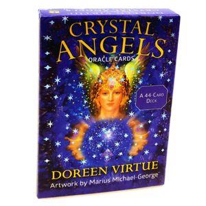 Crystal Angels Oracle Cards 44 Stück Tarot Karten Kartenspiel Spiel Weihnachten