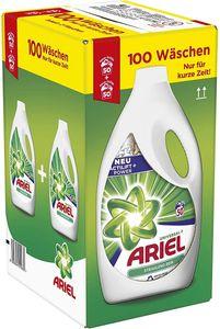Ariel Flüssigwaschmittel Universal Strahlend Rein 100 Wl (5,5 Liter)