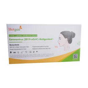 10er Pack Hotgen Nasal Antigen Schnelltest (VPE 5 Stück)