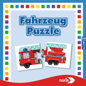 Noris Spiele Fahrzeuge- Puzzle; 608985663