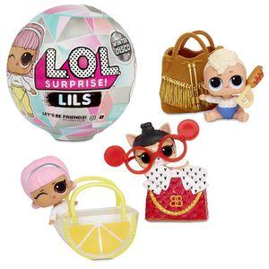 MGA Entertainment Inc. MGA Entertainment L.O.L. Surprise! Lil Sisters and Lil Pets - Winter Disco Series A - Mehrfarbig - Fashion doll - Weiblich - Mädchen - 6 Jahr(e) - 12 Jahr(e)