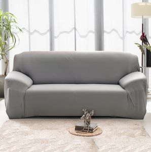 Sofabezug 195-230cm Grau Schonbezug 3-Sitzer Sesselüberzug