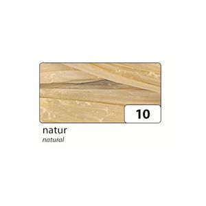 folia 9210 Raffia Edelbast, Bündel 30m, glänzend, natur (30 m)