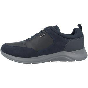 Geox OMEU5 C4002 Herren Slipper in Blau, Größe 42