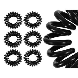 10x Haargummis Spiralhaargummi Spiralgummi Telefonkabel Zopf Zopfgummi Haarbinder
