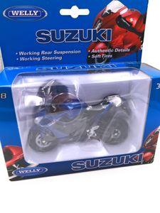 Onwomania Modellmotorrad GSX 1000R1 Motorrad Bike Modell Mst. 1:18