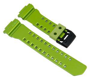 Casio G-Shock   Ersatzband Resin Kunststoff > grün > GBA-400-3B