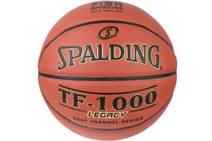 Spalding TF-1000 Legacy In 74450Z, Unisex, Basketball, Orange, Größe: 7 EU