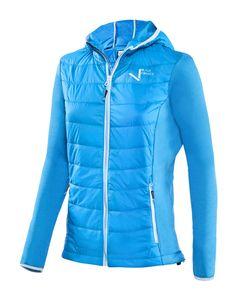 BLACK CREVICE - Damen Hybridjacke - Wandern/Skitour | Farbe: Blau | Größe: 40