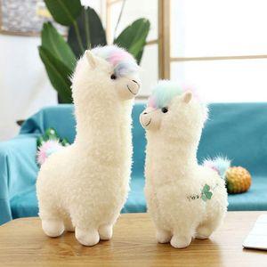 Alpaka Plüsch 38cm Alpaka Plüschtier Kinder Lama Niedliches Kuscheltier Spielzeug Alpaka Geschenke für Mädchen Jungen Baby