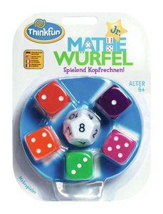 Thinkfun Kinderspiel Logikspiel Mathe Würfel Junior 76316