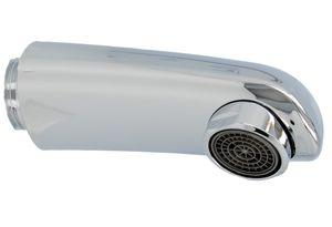 KLUDI Handauslauf Komet 768640500 - messing verchromt mit Strahlregler