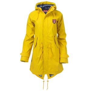 derbe Damen Regenmantel Gelb, Größe:36