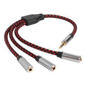 3,5 Mm Audio Aux Kabel Stecker Auf 3 Fach Buchse Verlängerungskabel Für Kopfhörer