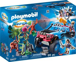 PLAYMOBIL 9407 Monster Truck mit Alex und Rock Brock